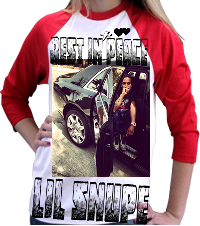 REST IN PEACE LIL SNUPE - Anvil Youth T-Shirt 2184B ...