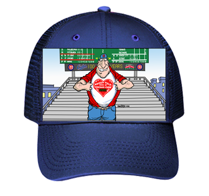 Cubs Low Profile Hat - Low Pro Trucker Style Otto Cap 83-473 - 83-4732033 -  Custom Heat Pressed 3482678555af1342016182749949 a311bd03adf7