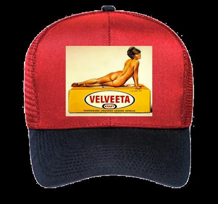 c959e6994510d Velveeta Hat - Low Crown Trucker Otto Cap 30-564 - 30-5642037 - Custom Heat  Pressed 65a843e1921f194201422524818