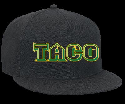 Taco - Snapback Flat Bill Hat - 125-978 - 125-9782048 - Custom Heat Pressed  48c31fcc6a3a278201315140144 6cea0f1c187