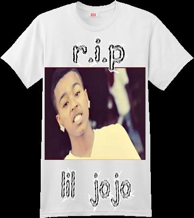 851ae2309 JOJO WORLD R.I.P LIL JOJO - Custom Screen Printed Hanes T-Shirt - 4980 -  49802047 - Custom Heat Pressed S 34655bc1638b3012016142036657A