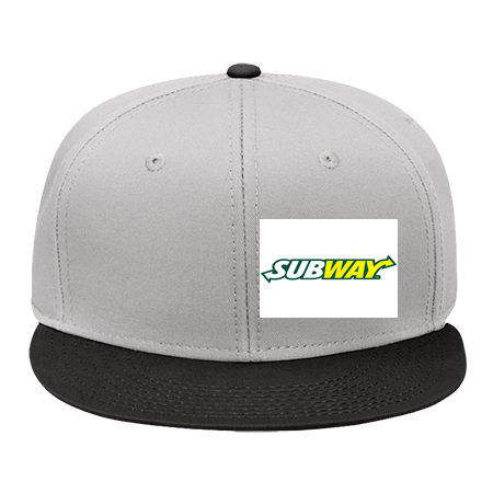 subway hat - Snap Back Flat Bill Hat - 125-1038 - 125-10382039 - Custom  Embroidered a1164cde5525196201482446690 9a89db159aa