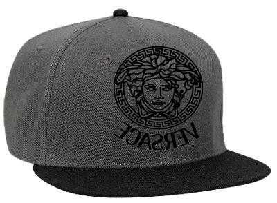 Versace Snapback Flat Bill Hat 125 978 125 9782030