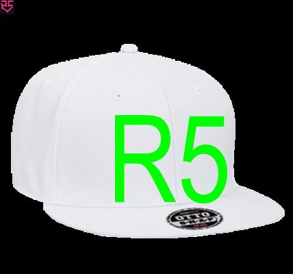 13f9d70a3 R5 - Snapback Flat Bill Hat - 125-978 - 125-9782018 - Custom Heat Pressed