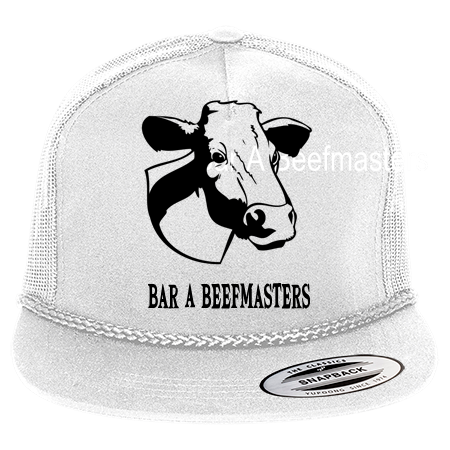 BAR A BEEFMASTERS - Classic Poplin Golf Mesh Trucker Hat - 6003 - 60032037  - Custom Heat Pressed 613907a9af6814720168577387 8fdbfd8100cf