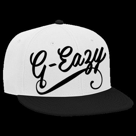 G Eazy Hat - Snapback Flat Bill Hat - 125-978 - 125-9782049 - Custom Heat  Pressed 7d179bdb071830320168135871 d9c39b28eedc