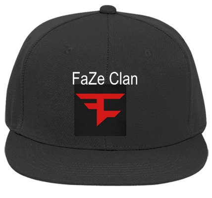 FAZE CLAN FAZE CLAN - Flat Bill Fitted Hats 123-969 - 123-9692032 - Custom  Heat Pressed 5d1d474153cf127201322479712 0073918c653