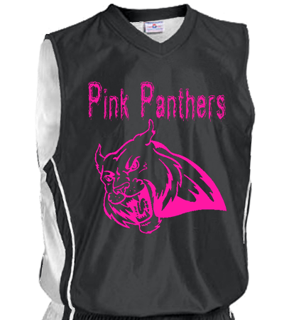 info for 93076 7c4e6 PINK PANTHERS 13 - Custom Heat Pressed Women's Reversible Dazzle Basketball  Jersey - 1492 - 14922015 S