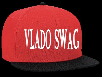 VLADO SWAG VLADO SWAG - Snapback Flat Bill Hat - 125-978 - 125-9782042 -  Custom Heat Pressed 904d829edc0e2282012235050495 a7599209df2