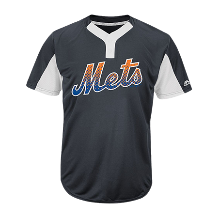 the best attitude 3aef3 8b1f2 NEW YORK METS - Custom Heat Pressed Youth Mets Two-Button Jersey -  Mets-MAIY83 - Mets-MAIY832048 Youth Small