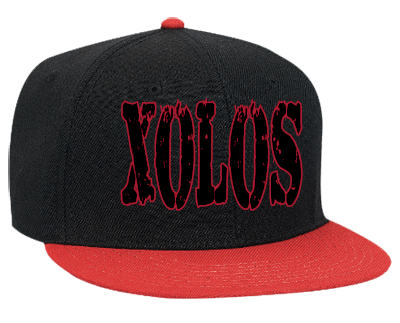 XOLOS CALIENTE - Snapback Flat Bill Hat - 125-978 - 125-9782053 - Custom  Heat Pressed - CustomPlanet.com f746369b420