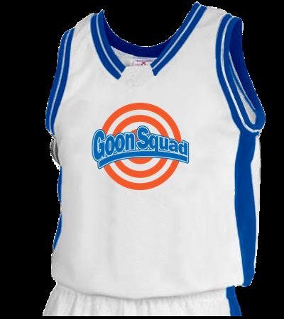 Goon Squad Custom Heat Pressed Adult Basketball Jersey