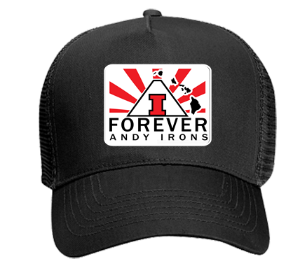 Andy Irons Forever Custom Heat Pressed Otto Trucker Hat