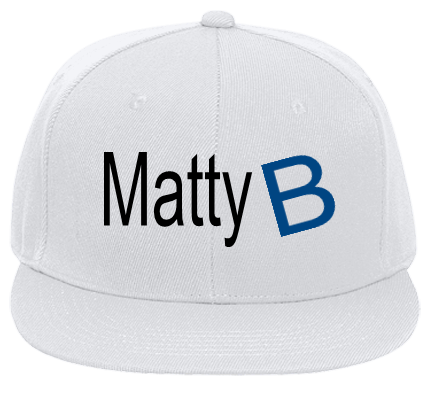 MATTYB B GIRL B GIRL - Flat Bill Fitted Hats 123-969 - 123-9692039 - Custom  Heat Pressed bd84f7ed4fa6232201417522481 47f339ecbf63