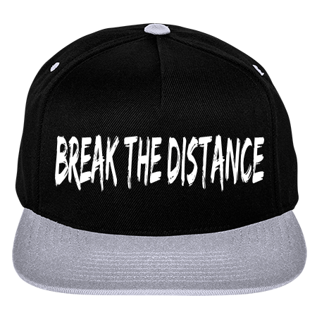 break the distance two color wool snapback 5089mt 5089mt2048 custom heat pressed. Black Bedroom Furniture Sets. Home Design Ideas