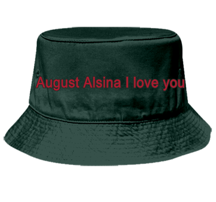 AUGUST ALSINA I LOVE YOU - Bucket Hat Otto Cap 16-096 - 16 ...