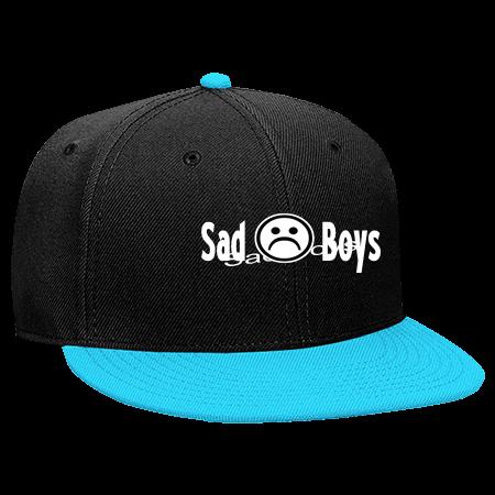 SAD BOYS SAD  ( BOYS - Snapback Flat Bill Hat - 125-978 - 125-9782041 -  Custom Embroidered d7a85d8393a51892014172921231 5afd82e4c2f4