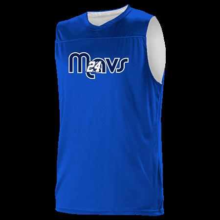 various colors 2ccc6 8339f 24 - Custom Heat Pressed Dallas Mavericks Youth Reversible Basketball  Jerseys - A105LY-MAVS - A105LY-MAVS2048 Youth Small