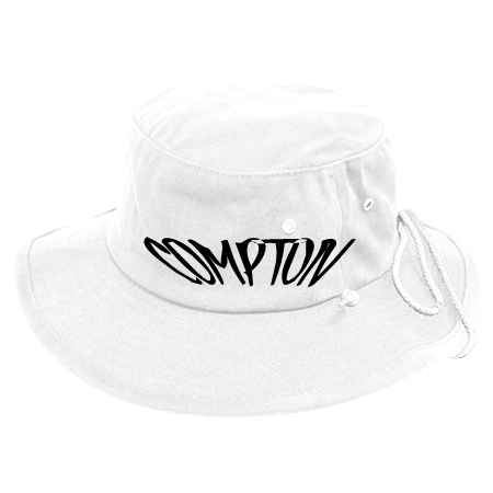 COMPTON - Aussie Bucket Hats - 510 - 5102053 - Custom Heat Pressed  15e2730dfa963182014141721617 4aa57946244