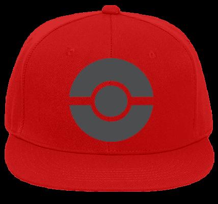 Pokemon Hat - Flat Bill Fitted Hats 123-969 - 123-9692023 ...