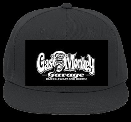 GAS MONKEY GARAGE - Flat Bill Fitted Hats 123-969 - 123-9692040 - Custom  Heat Pressed 01f03d4a123e2522013185843165 b20edcbecf4