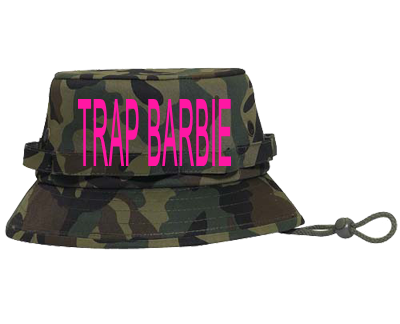 TRAP BARBIE - Bucket Hat Otto Cap 43-046 - 43-0462039 - Custom Heat Pressed  02af5c24bfe815122012154927909 3cd3c25c1f5