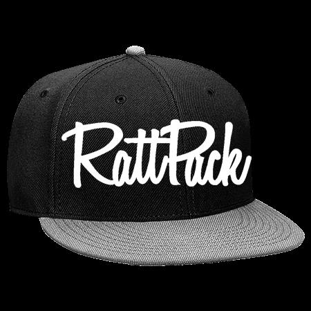 rattpack - Snapback Flat Bill Hat - 125-978 - 125-9782034 - Custom Heat  Pressed 18adcfbbe378144201616615206 0596c8b679d