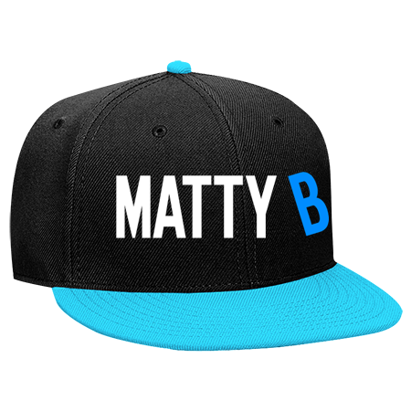 Matty B Snapback Flat Bill Hat 125 978 125 9782049