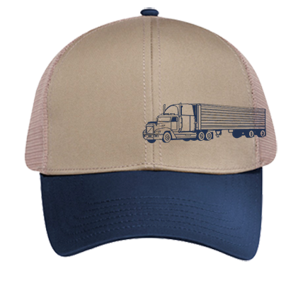 Lozano trucking - Low Pro Trucker Style Otto Cap 83-513 - 83-5132033 -  Custom Heat Pressed