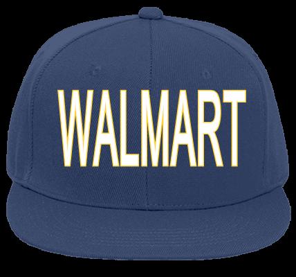 3100650f Proud Walmart Associate Flat Bill Fitted Hats 123 969 123