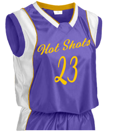 Hot Shots Game Jersey Womens Basketball Jersey Drive Series