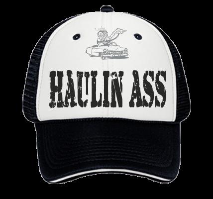 finest selection 3a040 f9a5d HAULIN ASS - Custom Heat Pressed Low Pro Sandwich Visor Trucker Otto Cap  84-472 - 84-4722053 117b1049e3fb3012201121163765