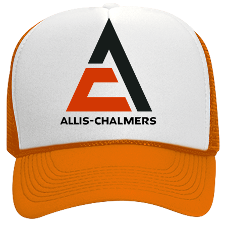 Mike Mike Allis Chalmers Neon Trucker Hat Neon