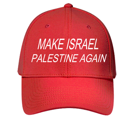 Make Israel Palestine Again Palestine Again Low Profile