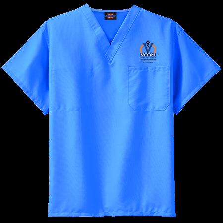 VCOM blue - Dickies Medical Scrubs - 0636DL - 0636DL2031 - Custom  Embroidered - CustomPlanet.com