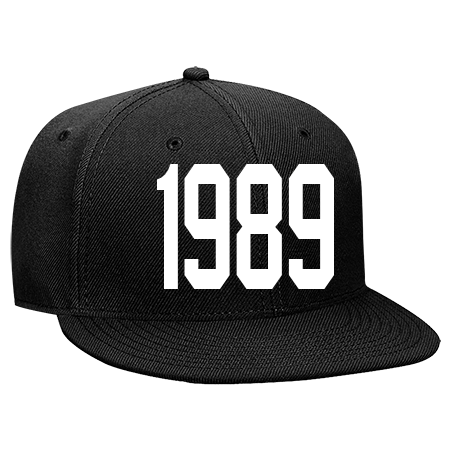 eef7140d 80'S BABY - Snapback Flat Bill Hat - 125-978 - 125-9782050 - Custom  Embroidered 248a8f39eeca2782015125552602
