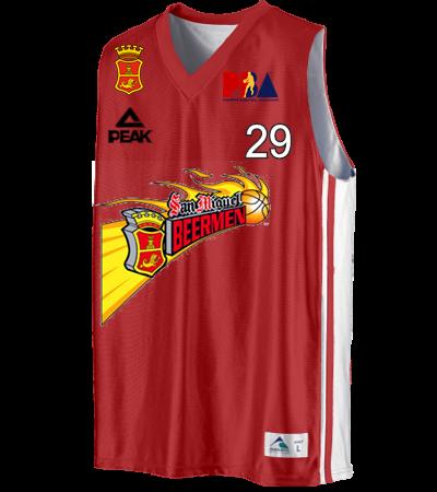 601e20a40b2 San Miguel Beermen Santos 29 - Custom Heat Pressed Reversible Dazzle  Basketball Jersey - 755 - 7552036 S 78ea0d1c6e5f139201462116541A