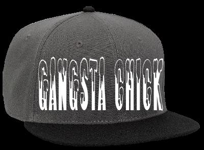 GANGSTA - Snapback Flat Bill Hat - 125-978 - 125-9782037 - Custom Heat  Pressed b3cfa0a1ddce2132013114721626 f90355d3a65b