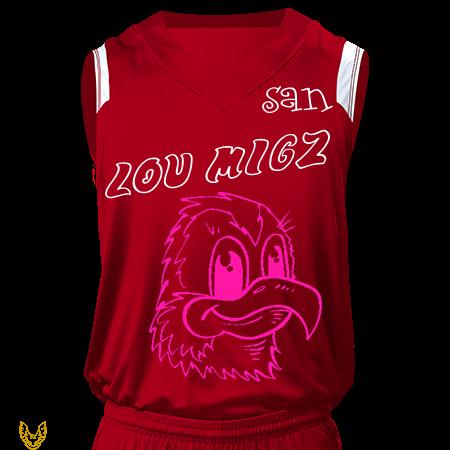 c920cee5f17 SAN JUAN LOU MIGZ TRINIDAD 09267200118 - Custom Heat Pressed Youth V-Neck  Custom Basketball Jerseys - NB2340 - NB23402051  239f6872ef4126102015195711620