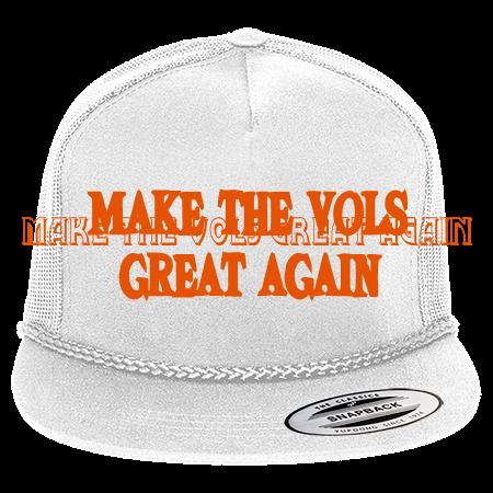 Make Tennessee Great Again - Classic Poplin Golf Mesh Trucker Hat - 6003 -  60032055 - Custom Heat Pressed 51b7223acede3010201514817409 44c642f0c7ec