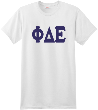 Customized Phi Delta Epsilon T Shirts Greek Gear