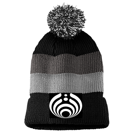 Bassnectar - Vintage Striped Beanie with Removable Pom - District -  DT6272049 - Custom Embroidered 603b8ff06e5224112014161957952 1172872ec10