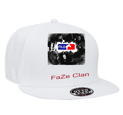 FAZE CLAN - Snapback Flat Bill Hat - 125-978 - 125-9782031 - Custom Heat  Pressed - CustomPlanet.com e4401e11767