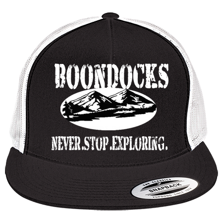 BOONDOCKS BOONDOCKS NEVER STOP DREAMING  NEVER STOP