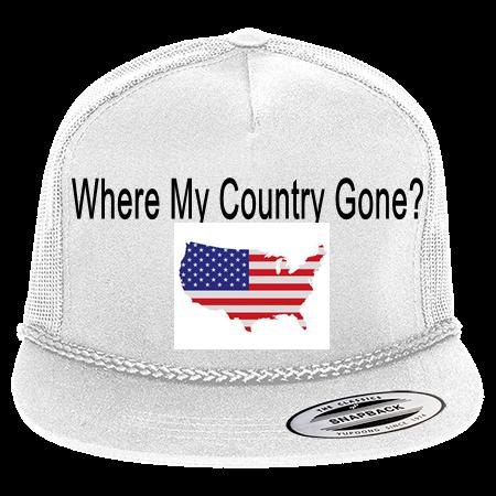 Classic Poplin Golf Mesh Trucker Hat - 6003 - 60032054 - Custom Heat  Pressed 2cfdb97aa615291020158525686 cb1da5227268