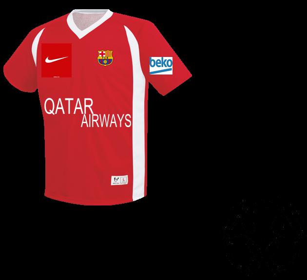 13fe459cec8 QATAR AIRWAYS UNICEF 10 AWAIS AWAIS AWAIS - Custom Heat Pressed Adult Dynamic  Reversible Soccer Jersey - 72550 - 725502051 2233ce8fb4d9306201572221127