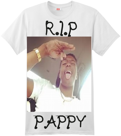 fa716a524 R.I.P PAPPY R.I.P PAPPY - Custom Screen Printed Hanes T-Shirt - 4980 -  49802021 - Custom Heat Pressed S 5586f56eb0cc32201615020291A