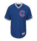 new - Custom Heat Pressed Adult Cubs V-Neck Cool Base Jersey - MG008-CUBS FE00C61662FA