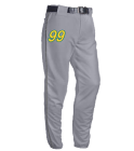 99 LN SMITH Open Bottom Baggy Cut Baseball Pants