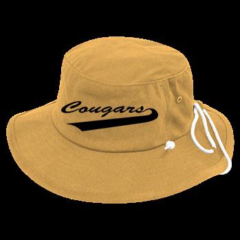 c3c9057ce Cougars - Custom Heat Pressed Aussie Bucket Hats - 510